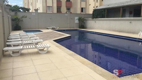 apto 2 dormitórios 1 vaga com piscina e sacada  ref 2704