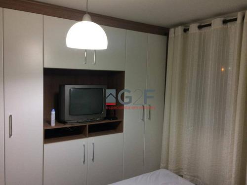 apto 2 dormitórios (suíte), 1 vaga - nova europa - campinas sp - ap8199