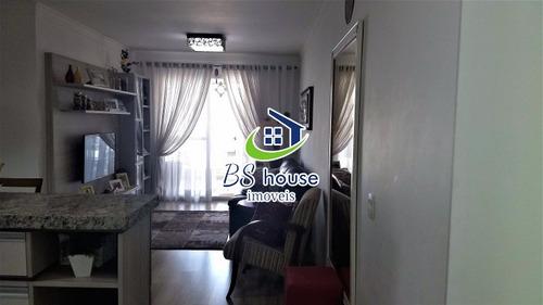 apto 3 dorm., 1 suíte, varanda gourmet,  2 vagas. valparaiso - 6898