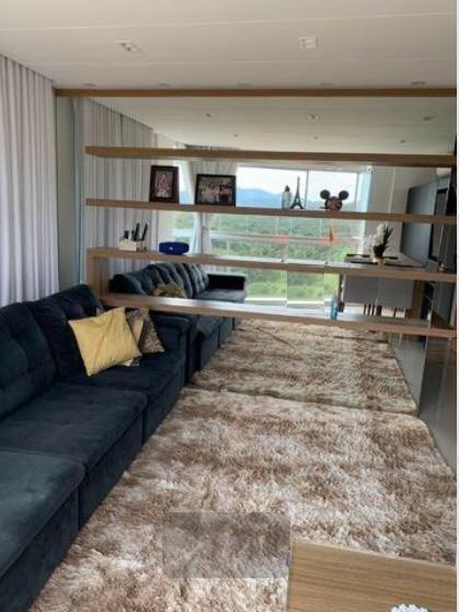 apto 3 dorm com suíte, semimobiliado no smart residence, passeio da pedra branca, 2 vagas - ap6086