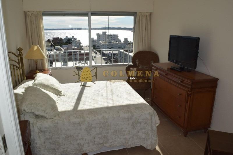 apto 3 dormitorios con hermosa vista playa mansa , isla gorriti, puerto y brava.- ref: 968