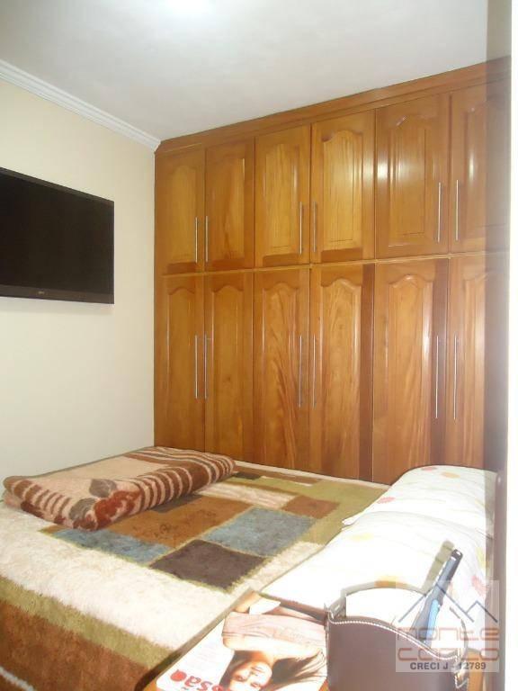 apto. 3 dormitórios para venda ou locação, 105 m² , 2 vagas, por r$ 480.000 - centro - são bernardo do campo/sp - ap0620