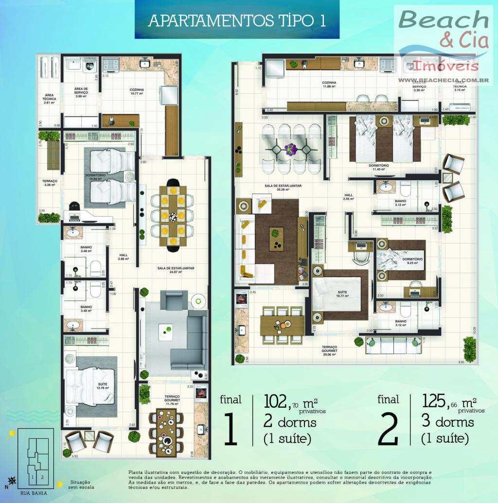 apto 4 dorms, boqueirão, praia grande, r$ 1.490.000 mi, ap00402 - vap00402