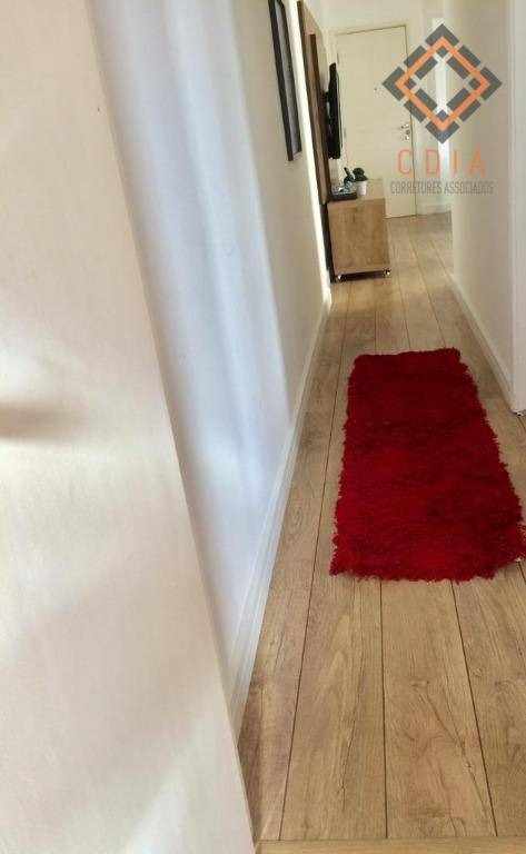 apto 58 m² 2 dorms, sala, coz. ban, área serviço, 1 vaga, lazer, 200 metros shopping taboão - ap39705