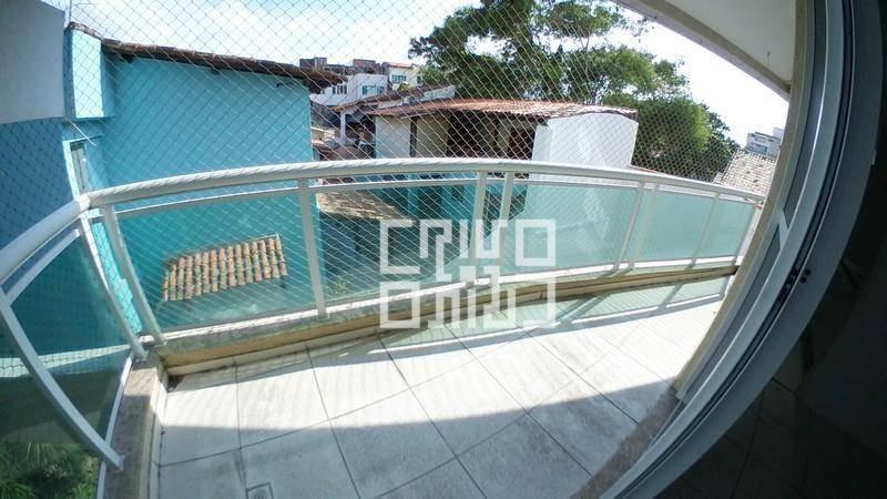 apto a 150m da praia com 2 quartos e vaga para alugar, 104 m² por r$ 1.500/mês - piratininga - niterói/rj - ap0398