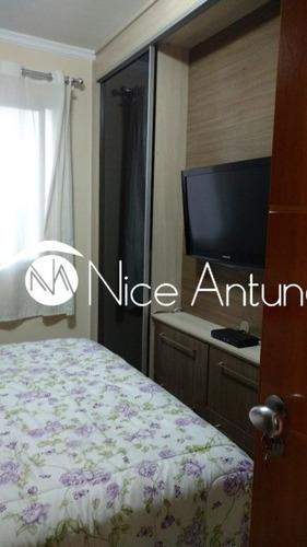 apto a venda, vila amélia - 02 dorms, 02 vagas, excelente localização, próximo shopping andorinha - na10468
