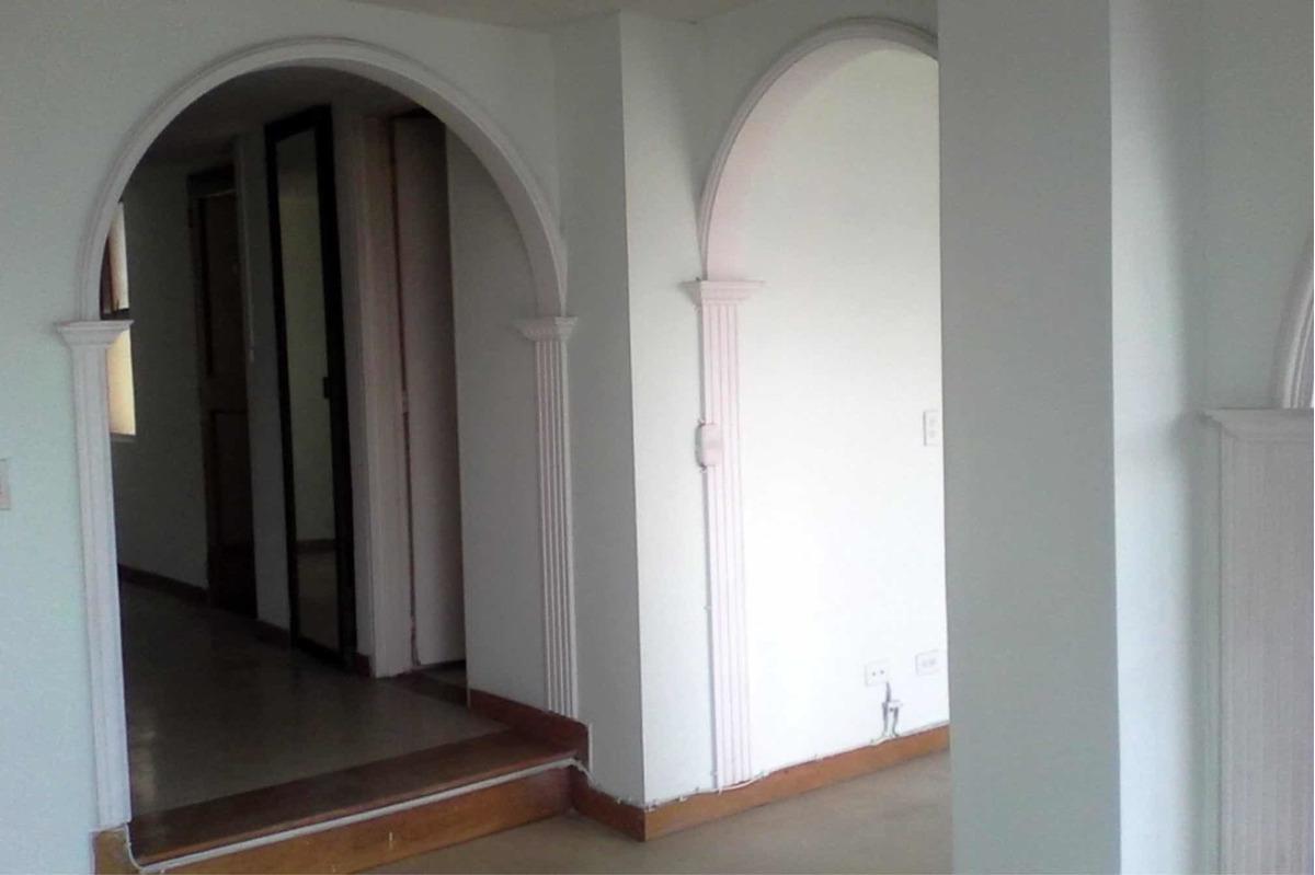 apto amplio 3 habitación con closet, 2 baños