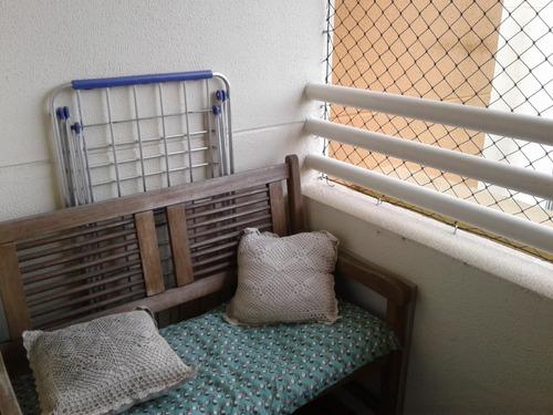apto. c/ 2 dorms; sala, cz. wc. fica tudo no apto. ref. 23