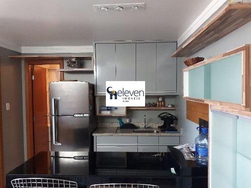 apto. cobertura para venda ondina, salvador com: 1 dormitório, 1 sala, 1 banheiro, 2 vagas e 94 m² útil. - tjl1021 - 4705240