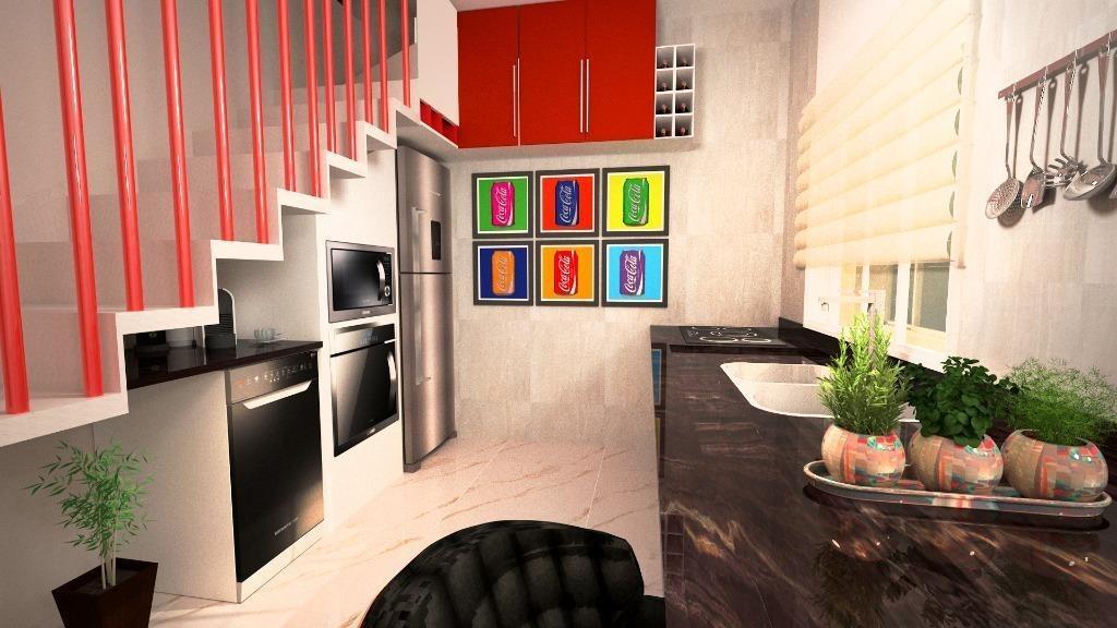 apto cobertura sem condomínio  com 102,92 m² sendo 2 dormitórios, 1 suite, 2 vagas à venda por r$ 325.000 - parque novo oratório - santo andré/sp - co0892