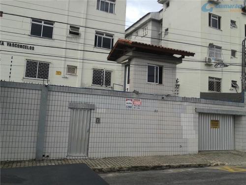 apto com 2 dorm (1 suíte) à venda, 78 m² por r$ 210.000 - joaquim távora - fortaleza/ce - ap4008