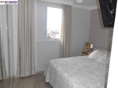 apto com 3 dormitorios,sala, 2 vagas. - mc2060