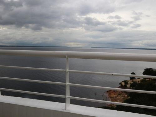 apto com varanda de frente para o rio negro, moradia ou investimento - sf26926