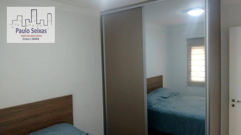 apto compacto decorado - ap0092