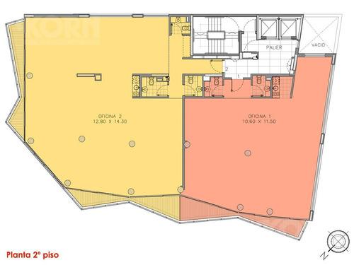 apto credito - venta con renta oficina planta libre con cochera en palermo hollywood