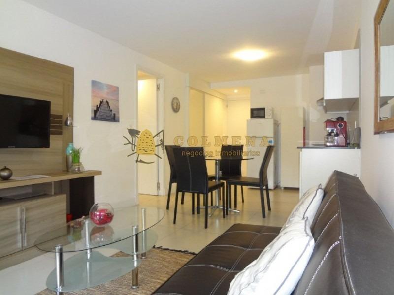 apto de 1 dormitorio y medio definido, 2 baños, con parrillero consulte!!!!!!-ref:1632