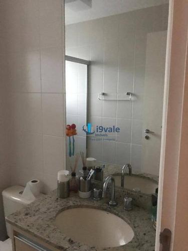 apto de 120m² com 3 suítes e 5 banheiros à venda por r$ 780.000 - vila ema - são josé dos campos/sp - ap1805