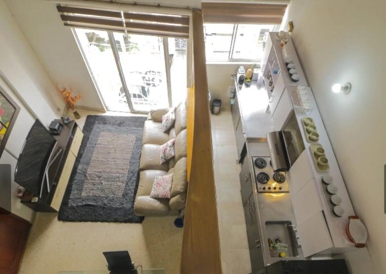 apto duplex malibu  116mtr 3hab, 2 salas 5to piso sin acenso
