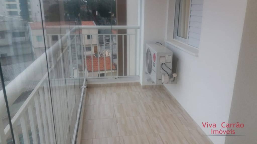 apto excelente de 3 dormit ( uma suíte ), um dormit foi transformado em sala, com 78 m2 e uma espaçosa varanda gourmet- vila formosa-sp - ap0875