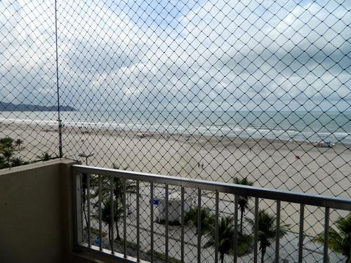 apto jóia 3 dormitórios praia grande frente para o mar