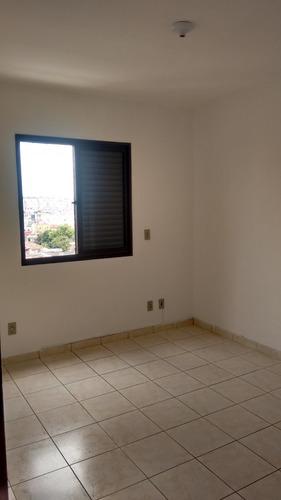 apto locação - ed. barcelona - centro de suzano/sp