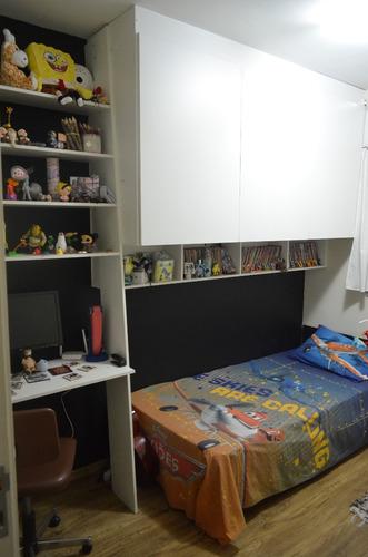 apto mobiliado 2 dormitórios 1 vaga pra vender rápido 2153