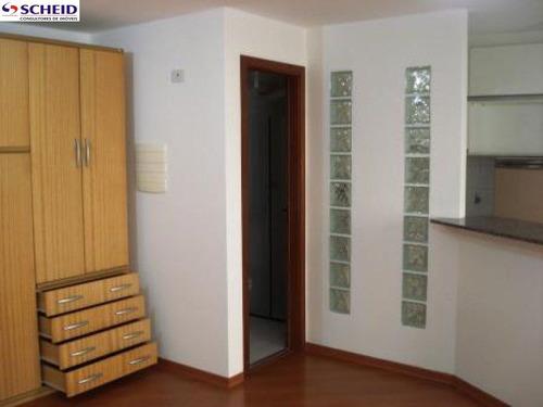 *apto mobiliado 34 m² com 1 dorm, 1 suíte, 1 banheiro, 1 vaga!* - mc1058