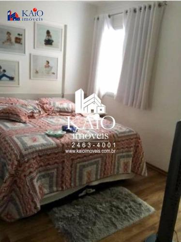 apto mobiliado com 2 dormitórios à venda na vila rosália