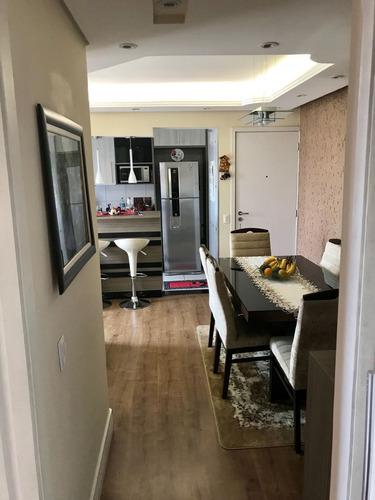 apto mobiliado com piscina e vaga coberta 2 dormitórios 2855