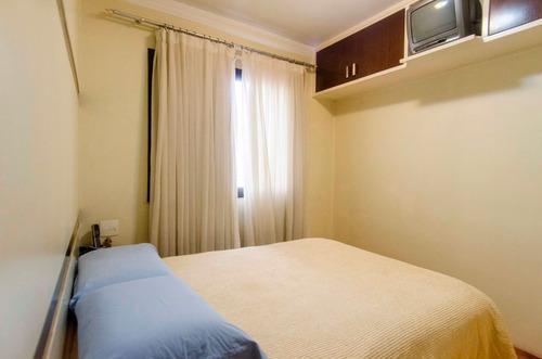 apto na aclimação - 2 dorms, suite, varanda, 2 vagas