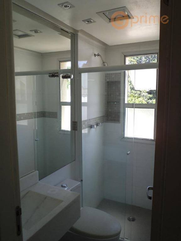 apto no bosque maia - 128 m² - 3 suítes - aceita permuta - ap0138