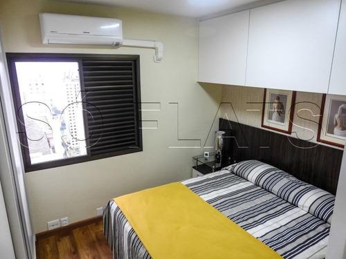 apto no jardins 2 dorms 2 vagas 62m² - sf27037