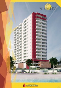 apto novo, 02 dormitórios, balneário flórida, p.grande (835)