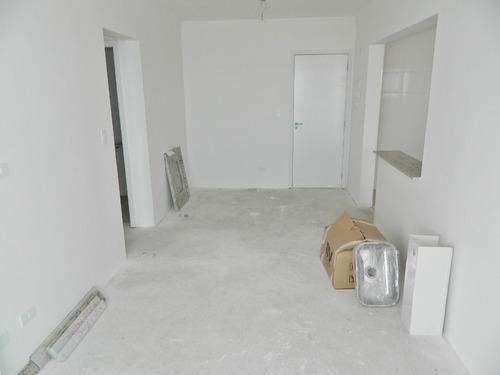 apto novo 02 dormitórios, frente mar (1162)