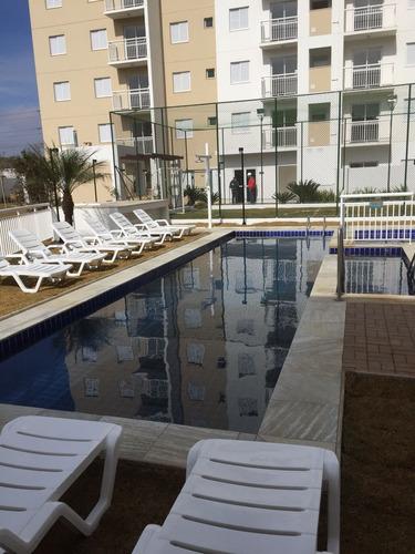 apto novo para locação com piscina 2 dormit ac depósito 2942