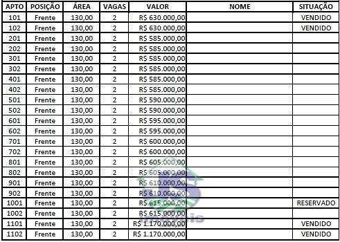 apto para venda cidade nobre ipatinga - 606-1