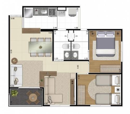 apto pronto vila casa verde 2 e 3 dormitórios