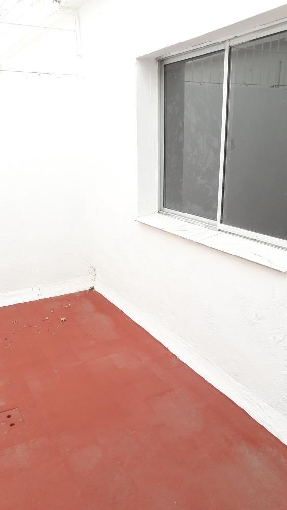apto tipo casa en la teja 1 dormitorio alquilo
