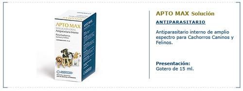 aptomax solucion
