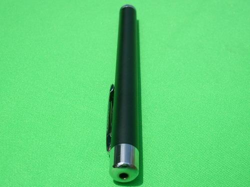 apuntador laser 5mw rojo con estuche, pilas y personalizado!