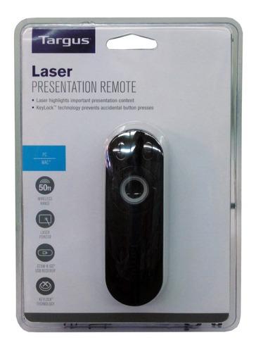 apuntador laser presentador con control remoto laser targus
