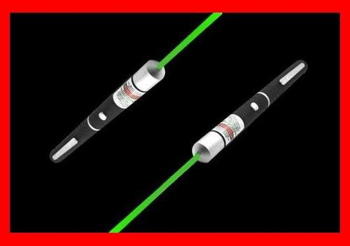 apuntador láser verde 100mw 30 km multipuntos + envio gratis