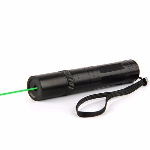 apuntador laser verde potencia  200mw + cargador + bateria