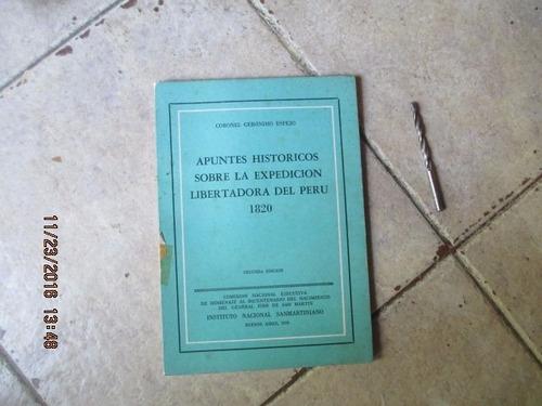 apuntes históricos sobre la expedición libertadora al perú