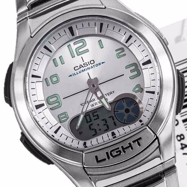 b516a6980b6 Aq-180wd 7bv Relógio Casio Análogico Digital Agenda Alarmes - R  274 ...