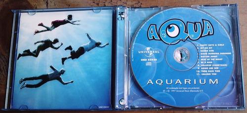 aqua aquarium limited edition cd yvcdvideo dinamarca 1997