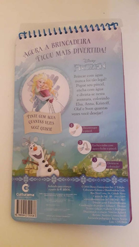 aqua book frozen colore com agua culturama bonellihq c19