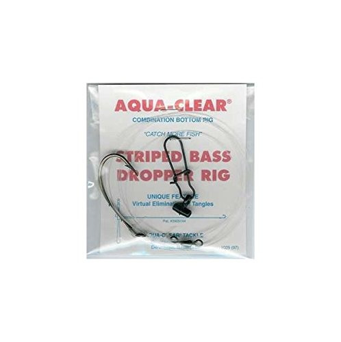 aqua clear rayas st7bhff bass fish buscador rig tamaño 70 ac