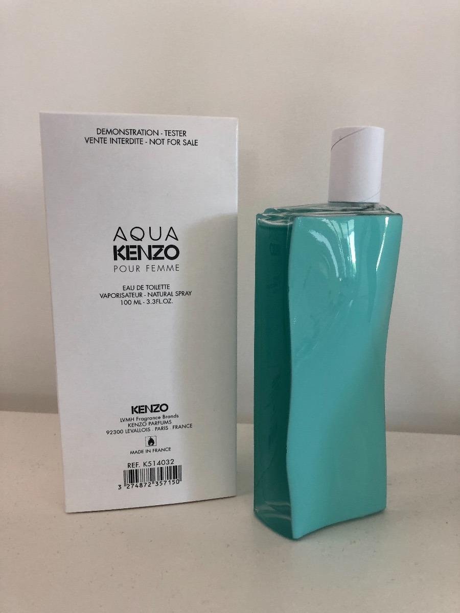 9cc64337be66 Aqua Kenzo Pour Femme Edt 100ml Original Frances Tester -   2.200,00 ...