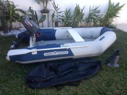 aqua marina + yamaha 2hp bote auxiliar